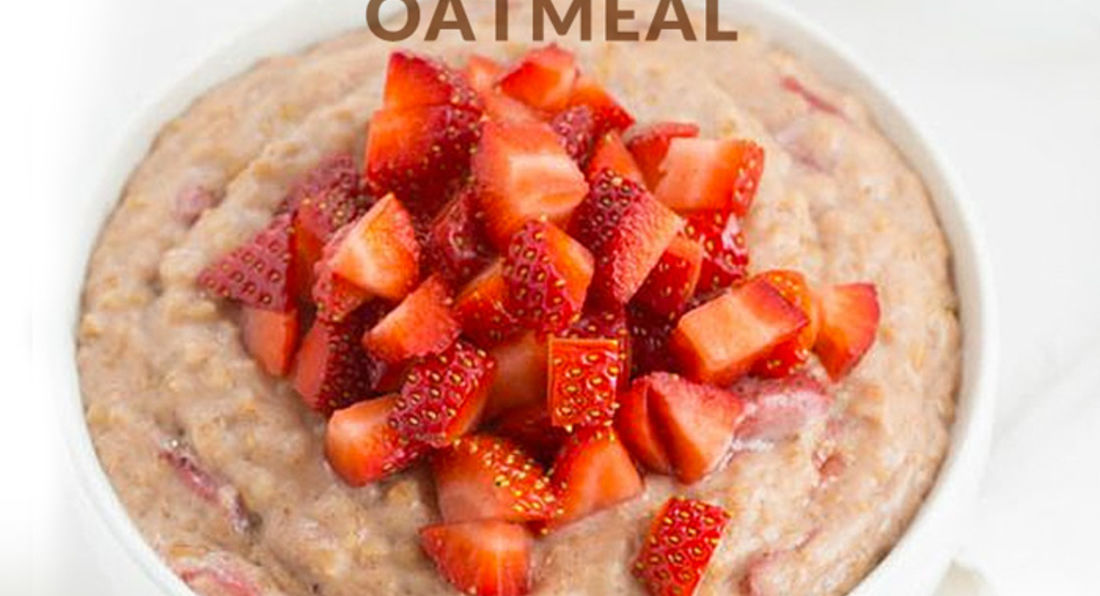 Super Healthy Strawberry and Banana Nut Bread Oatmeal