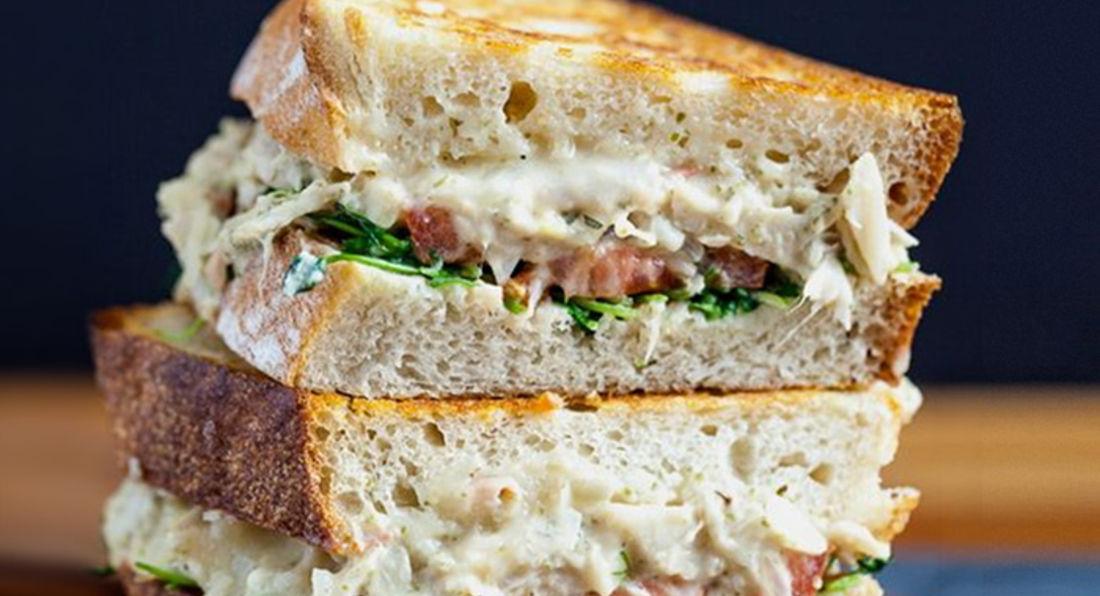 Bodybuilders Tuna Sandwich