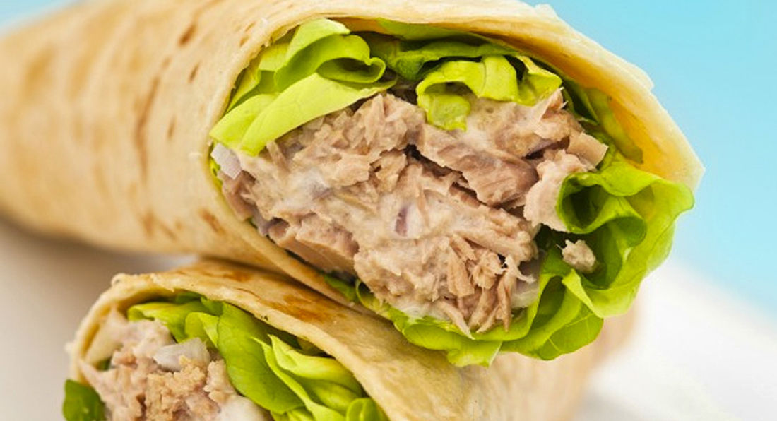 Quick and Tasty Muscle Building Tuna Wraps