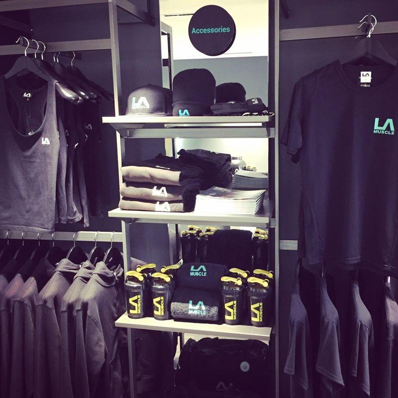 LA Muscle Shop, exclusive clothing