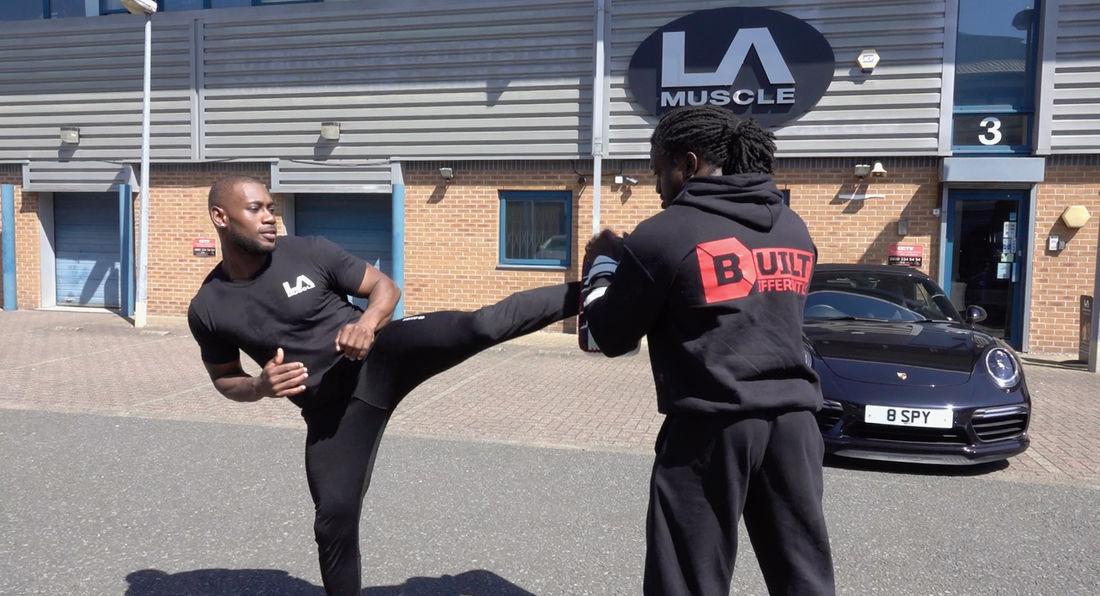 LA Muscle Latest Athlete Leon Gordon