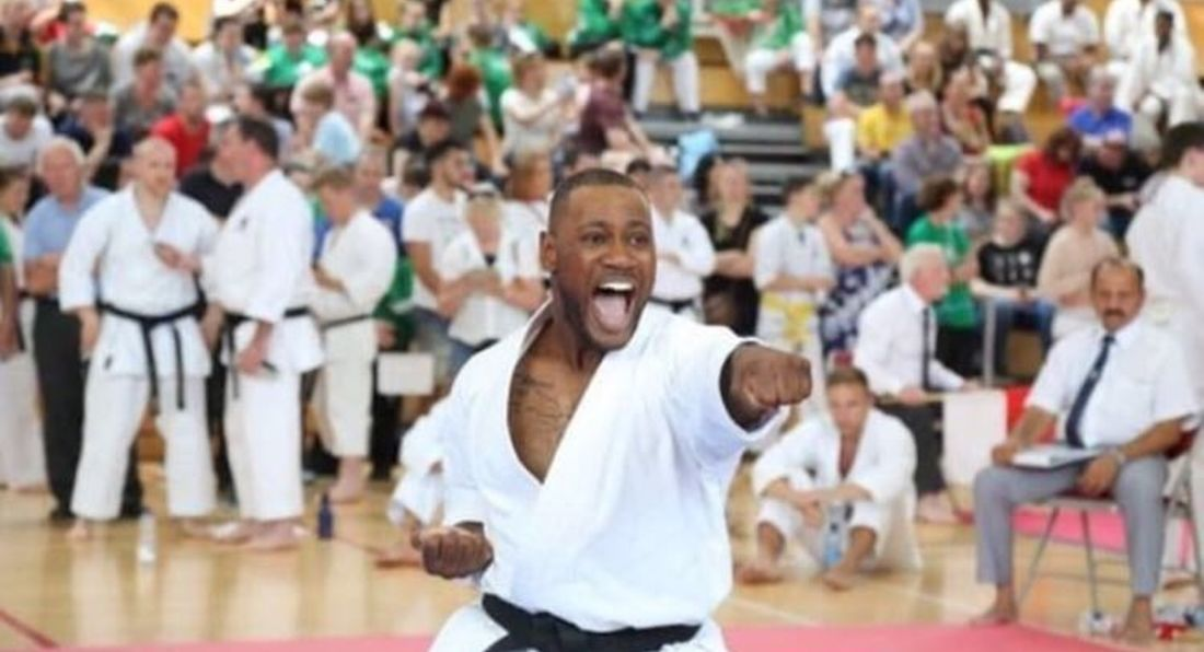 Q&A with Karate World Champion Leon Gordon