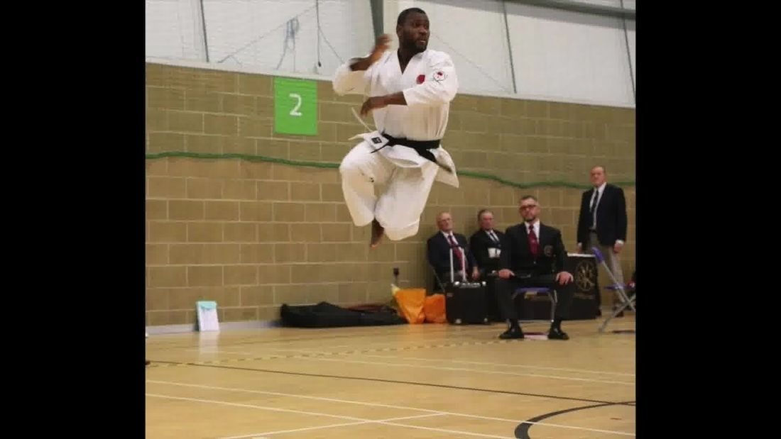 World Karate Champion shows you how to build muscle & lose weight