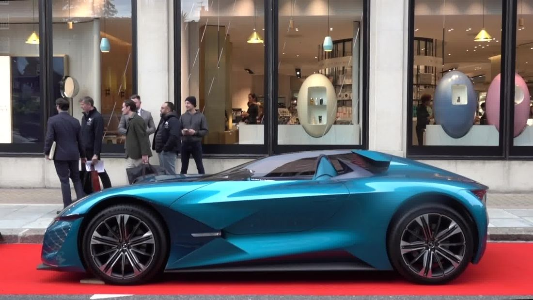 Latest amazing supercars in London