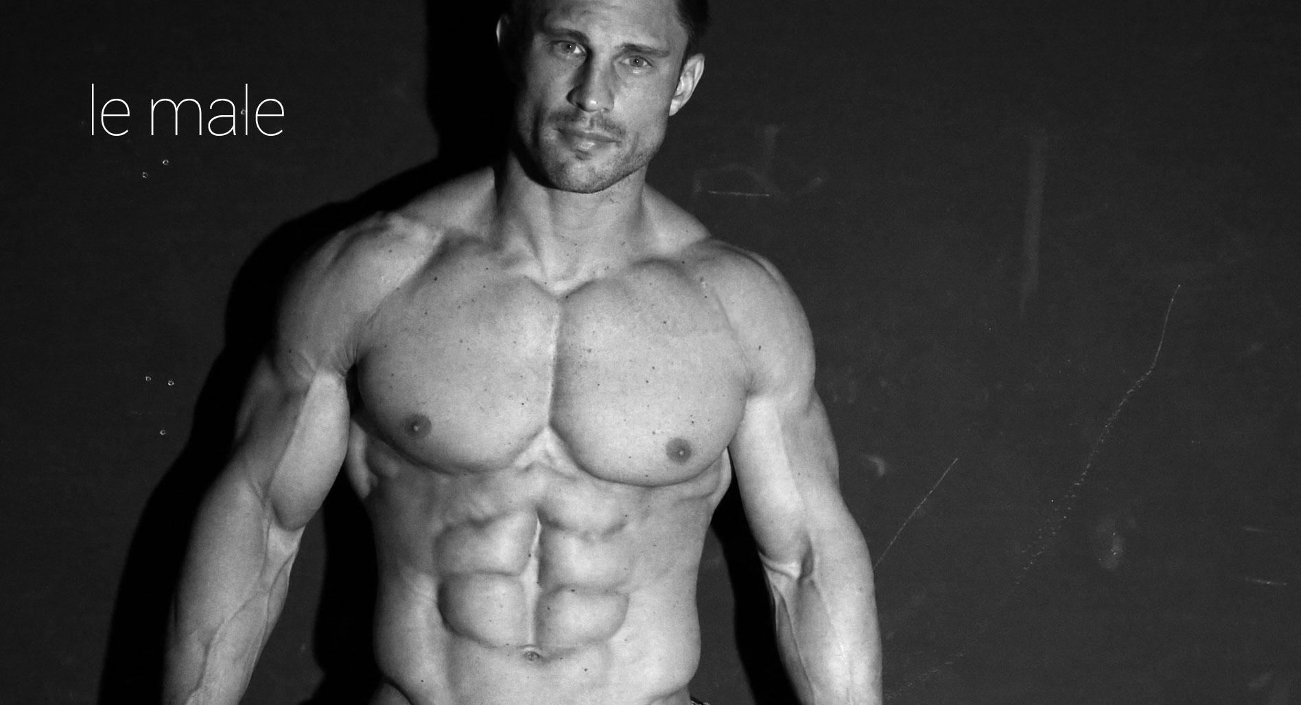 Le Male: LA Muscle Male bodies