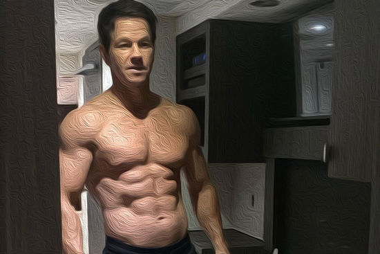 Mark Wahlberg Training