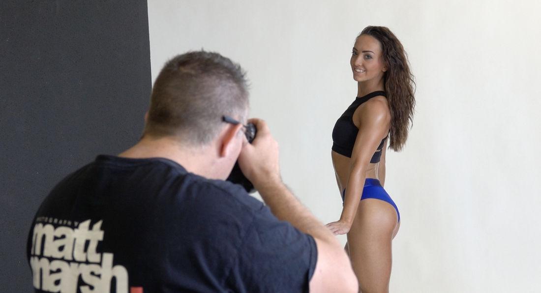 Behind the Scenes With Top Fitness Photographer Matt Marsh
