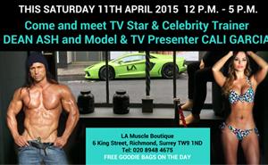Come and meet Dean Ash and Cali Garcia