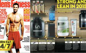 Men's Fitness Magazine February 2015