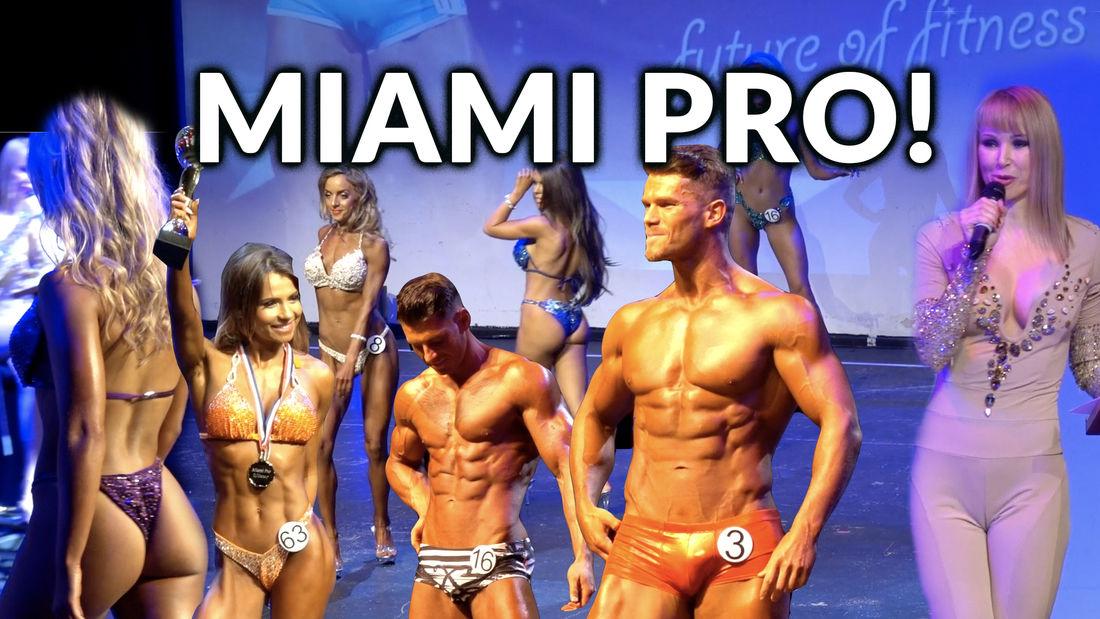 Miami Pro Fitness & Figure Competition 2018
