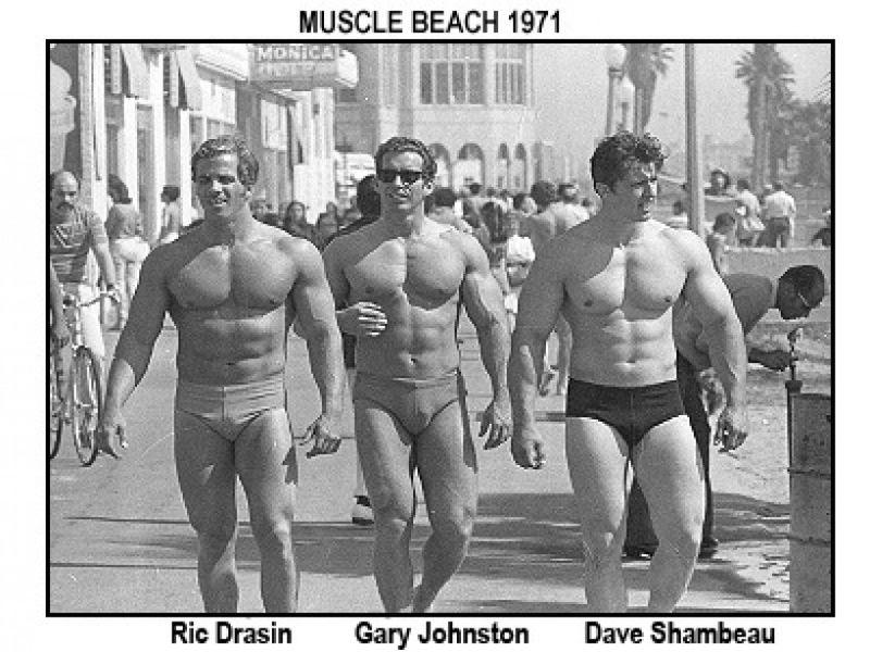 Muscle Beach bodybuilding photos, classic bodybuilders
