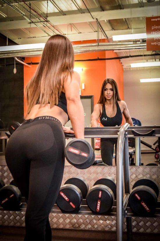 UKBFF Natalie Jiojioras Lower Body Workout