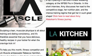 Your monthly LA Muscle Health & Fitness news, gossip and tips