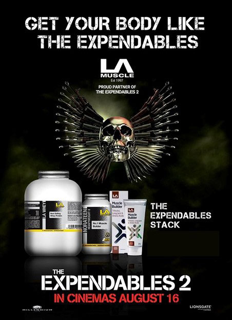 Expendables Movie and LA Muscle