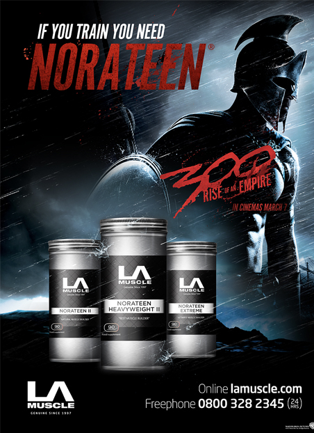 Norateen Extreme and partnership with the Movie 300