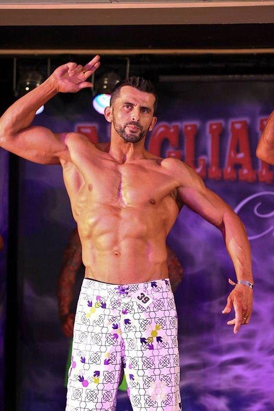 Fitness competitor Nuno Vieria