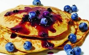 Blueberry & Banana Protein Pancakes