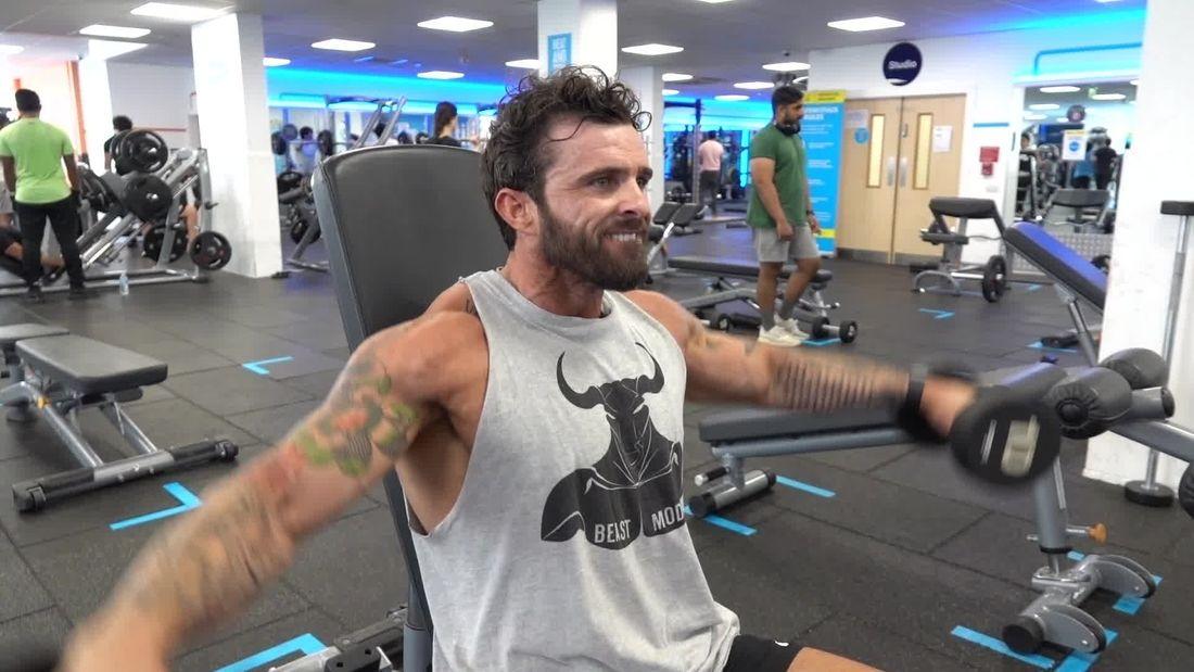 Workout with Irish Bodybuilder Patrick Corcoran!!