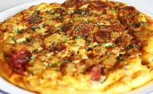 High Protein Pizza Omelette