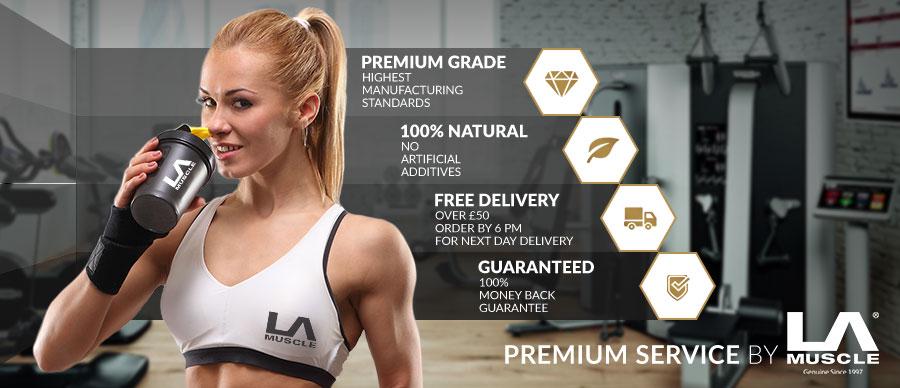 Premium Service by LA Muscle