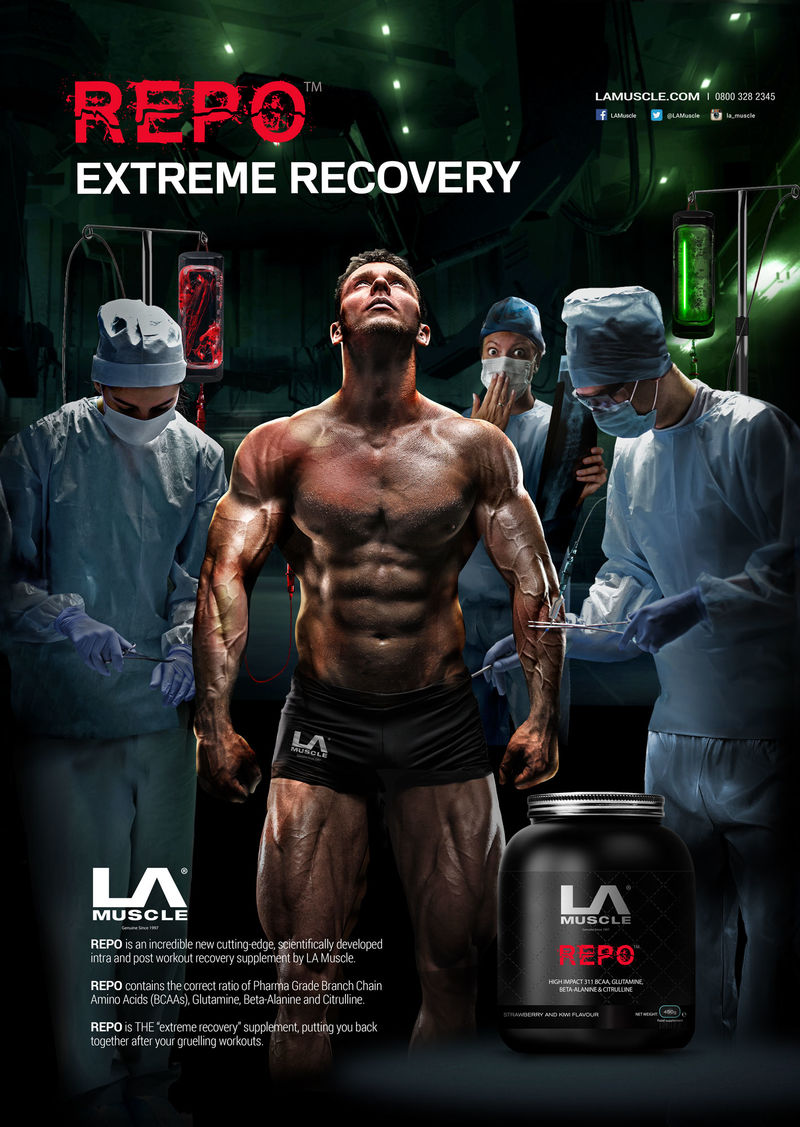 REPO Intra and Post workout supplement