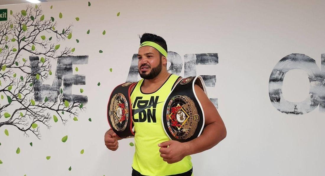 LA Muscle TV Films World Kick Boxing Champion