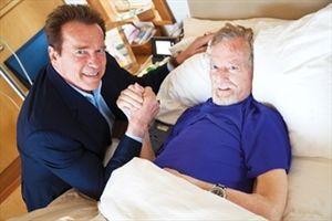 Arnold Schwarzenegger with Robert Kennedy