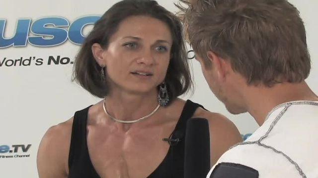 Ildiko Gaspar, Miss Muscle Beach