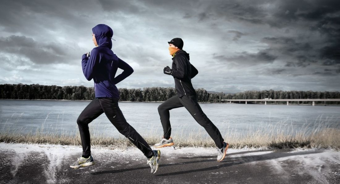 Burn Fat Running Outside During The Winter