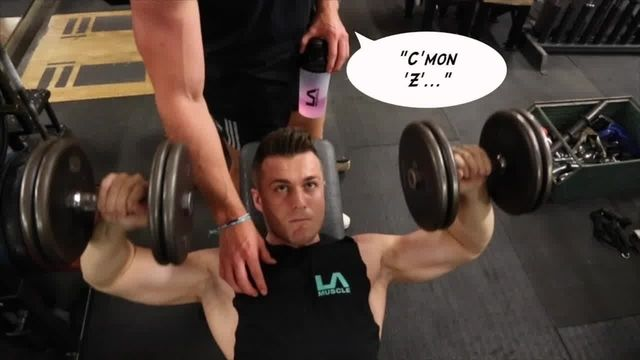 Ryan & Zoran Train arms and shoulders