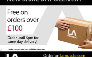 Free same day delivery in London