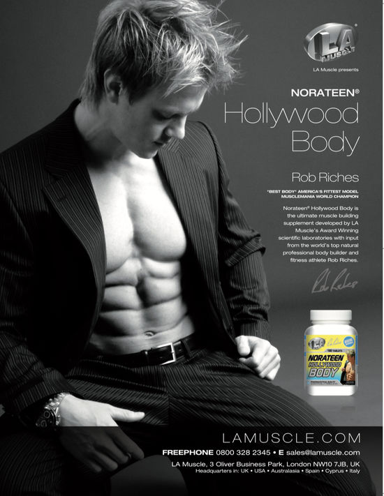 Featuring Rob Riches as seen in Men's Health