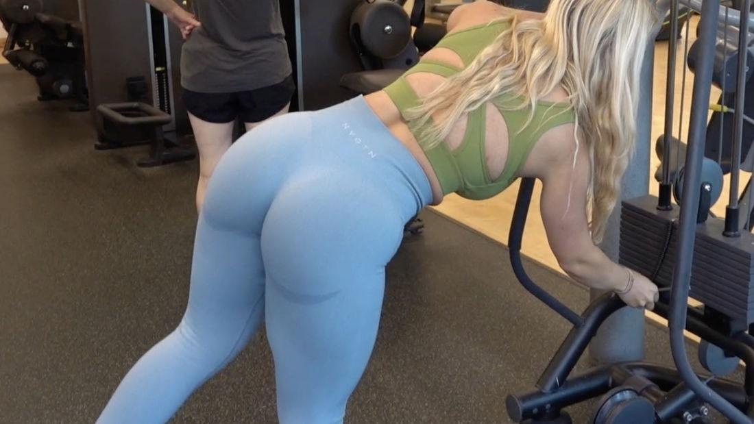 Italian Fitness Model Trains Full Body at Better Gym in King's Cross London