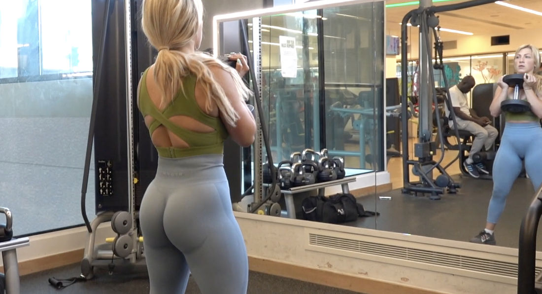 OMG! What a fitness body!