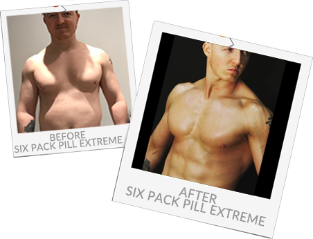 Sean Before and after Six Pack Pill Extreme