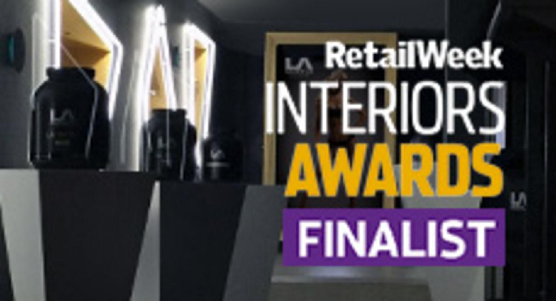LA Muscle Shop: Finalist in Retail Week Interior Design Awards 2015