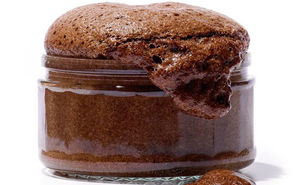 Muscle Building Chocolate Soufflé