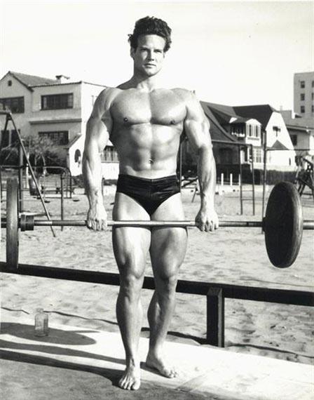 Steve Reeves, classic Venice Beach photo