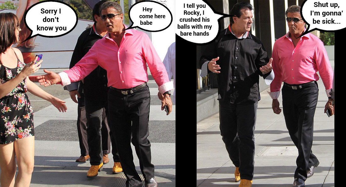 Funny Sylvester Stallone Story
