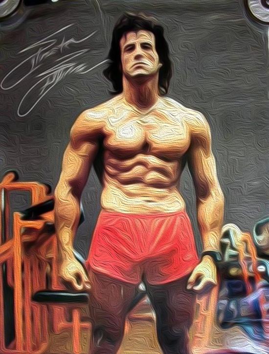 Sylvester Stallone Training
