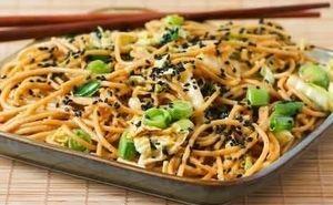Thai Peanut Whole Grain Spaghetti