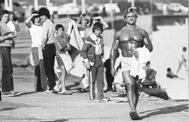 Tom Platz, classic bodybuilding photo