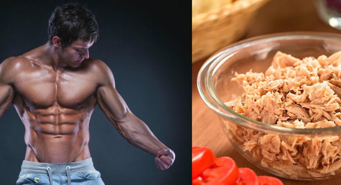 The correlation between tuna and bodybuilders