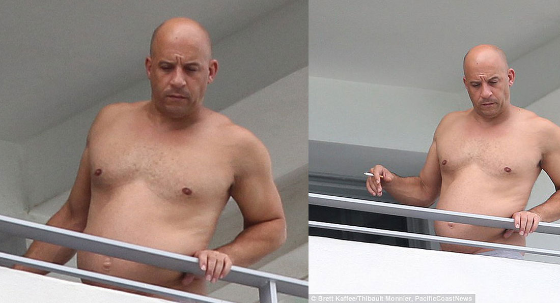 SHOCKING PHOTOS: Is this REALLY Vin Diesel?