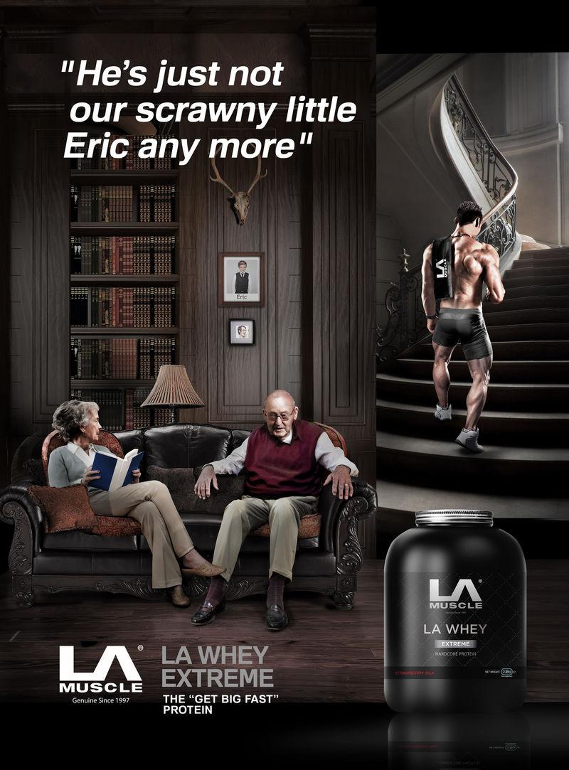 LA Whey Extreme Protein Powder
