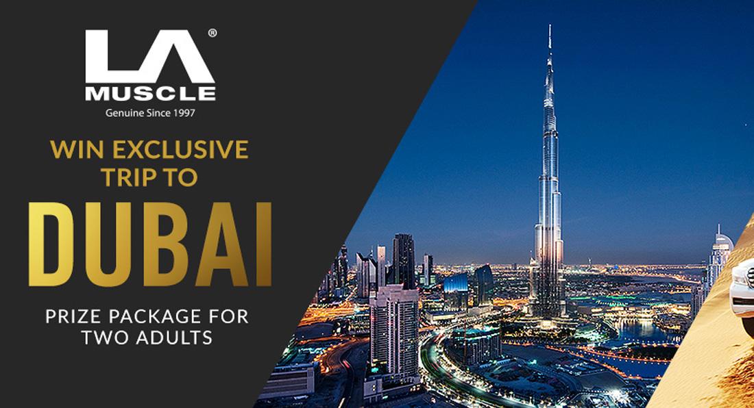 Win a trip for 2 to Dubai