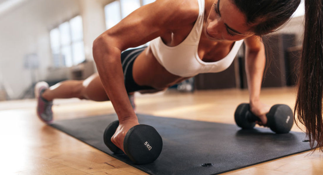 Try This Dumbbell Workout You Can Do Anywhere