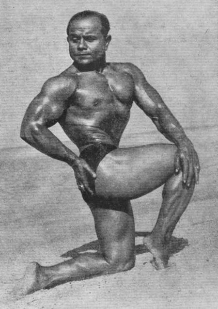 Manohar Aich in his heyday