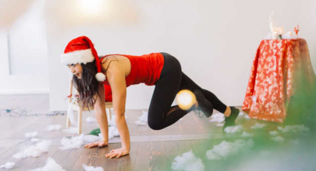 Burn Christmas Fat With This Home Bodyweight Workout