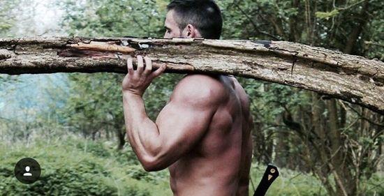 Strongman Zilvinas Nacas